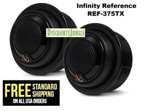 """INFINITY Reference REF-375TX 3/4"""" Edge-Driven add on Tweeters w/ crossovers 135W"""