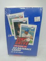 Factory Sealed1991 IMPEL LINE DRIVE AA Minor League Pre-Rookie Baseball Card Box