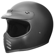 Casco de MOTO Premier Trofeo MX u9bm color: negro mate tamaño: S (55) Fighter