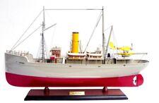 MAQUETTE DE BATEAU EN BOIS - AURORA - TINTIN longueur : 60 cm