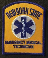 "EMT NEW YORK STATE patch  ny state emt patch 4"" tall EMT patch emt patch"