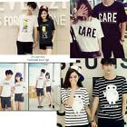 Men women for summer clothes casual wear designer Lovers couple T- shirt tops