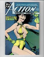 Action Comics Weekly Phantom Lady #639 Feb 1989 DC Comic.#130714D*3