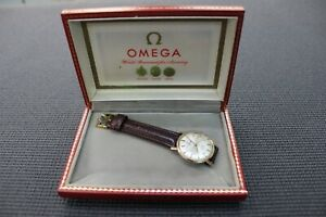 Omega Seamaster De Ville Vintage automatic 14 kt Gold watch