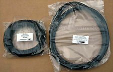 1979-1993 Mustang Sunroof Rubber Weatherstrip Seal Kit 2pc