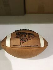 Wilson F1004 Leather Official GST Football NCAA/NFHS approved