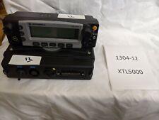 Motorola XTL5000 XTL 5000 700 800 MHz P25 Digital Radio M20URS9PW1AN #1304-12
