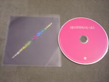 RARE ADVANCE PROMO Heartbreak CD Lies LEX 10 tracks electronic synth pop disco !
