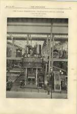 1900 Triple Expansion Engines At The Paris Exhibition Borsig Tegel