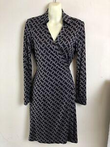 *DFSS* Diane Von Furstenberg DVF Size US 6 / AU 10 Silk Wrap Dress