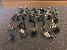 Hasbro - Star Wars Unleashed - Jedi Figure Lot