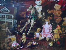 "New Springbok Jigsaw Puzzle ""Treasures Of Christmas Past"" 500 Pcs (Sealed) Bears"