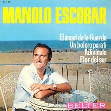 MANOLO ESCOBAR El Angel De La Guarda SP Press Belter 51.158 EP