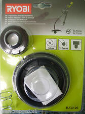 Carrete de hilo con Botón presión para Elektrotrimmer RLT1038/RLT7038,RAC120