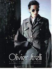 PUBLICITE ADVERTISING  1993   OLIVIER STRELLI  haute couture