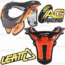 Leatt 2014 GPX Race Neck Brace Protector Orange Large Extra Large Motocross New