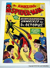 Amazing Spiderman 12 Marvel Comic Book 1964 Spidey UNMASKED! High Grade