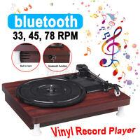 Wifi bluetooth Vinyl Record Player Speaker Antique Gramophone Turntable 3  !!