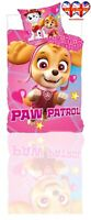 Paw Patrol Duvet Cover&Pillowcase,Baby Toddler Bedding Set, (100X135cm)