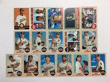 2017 Topps Heritage Oakland Athletics MASTER Team Base Insert Set 16