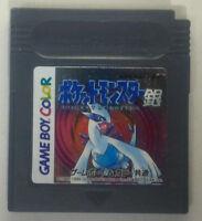 Pokémon: Silver Version (Nintendo Game Boy Color, 2000) Japanese Version