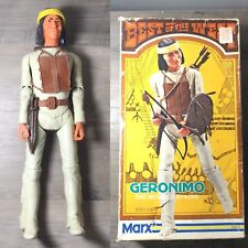 Vintage 60s Marx Fort Apache Fighters Geronimo (#1863) Action Figure Box Set