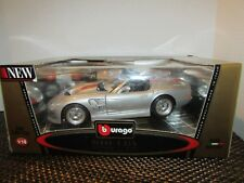 Burago #3323 1999 Shelby Series 1 1:18 Die Cast Model Italy Gold Collection