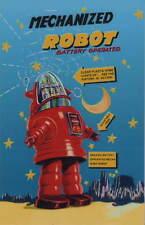 MECHANIZED ROBOT FRIDGE MAGNET TROMMLER ROBOTER KÜHLSCHRANK MAGNET ROBOT No. 11