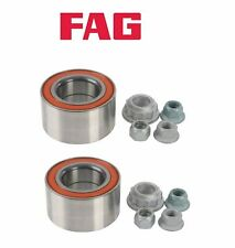 PAIR OEM FAG Front Wheel Bearing Kit For VW Mk4 Golf GTI Jetta Beetle A4