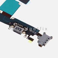 Charging Charger Port Dock Headphone Jack Mic Dark Gray Flex for Iphone 6 Plus