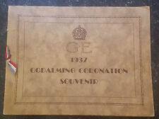 Goldalming Celebrations of Coronation of King George 6 May 12 1937 Programme