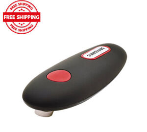 Farberware Hands-Free Battery-Operated Black Can Opener in Red.....