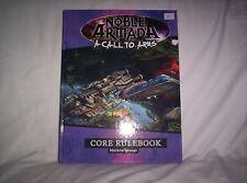 Mongoose Noble Armada Noble Armada - A Call to Arms Core Rulebook HC VG+