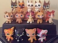 Littlest Pet Shop LPS Great Dane Dog #577 LPS Collie Cat #339 3 Random FREE SHIP