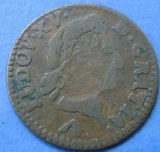 France - Frankrijk : 1 Liard 1774 W  Lille LOUIS XV - KM# 543.11