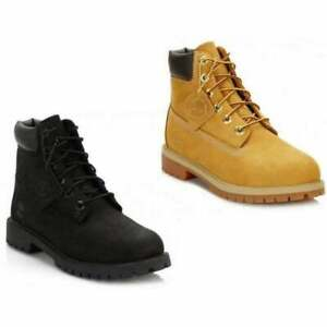 Timberland Juniors 6 Inch Premium Nubuck Boots in Various Colours and Sizes