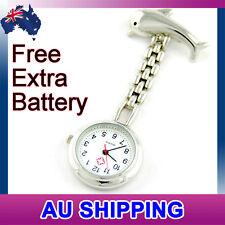 Dolphin Nurse Nursing Nurses Pendant Pocket Brooch Fob Watch  - Premium Quality