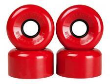 Sims Quad Skate Wheels Street Snakes 62mm/78a - Red