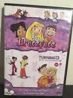 Braceface Turning13 Dvd Disney Channel First 13 Episodes Rare OOP Cartoon Brace