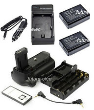 Battery Hand Grip For Canon 1100D Rebel T3 X50 1200D+2 LP-E10+AA Holder+ Charger