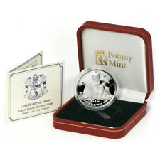 Isle of Man 2014 Snowshoe Cat 1 Oz. Proof Silver Crown with Mint Box & Coa
