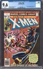UNCANNY X-MEN #106 (1977) CGC 9.6 NM+ / Chris Claremont! White pages!