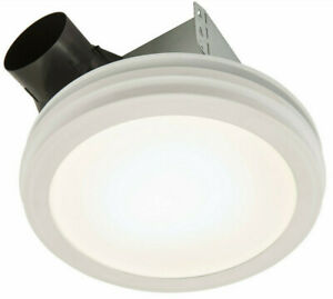 NEW NuTone Humidity Sensing Bath Exhaust Fan+LED Panel 110 CFM Model AERN110SLW