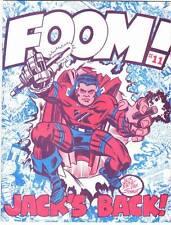 FOOM MAGAZINE #11 - 1975 - Jack Kirby interview, John Byrne, Don Perlin werewolf