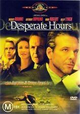 DESPERATE HOURS (Anthony HOPKINS Mickey ROURKE) THRILLER DVD NEW SEALED Region 4
