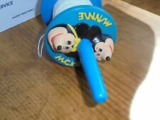 Vintage 1980s Plastic Disney Mickey Minnie Mouse Kite String Winder Spool Toy