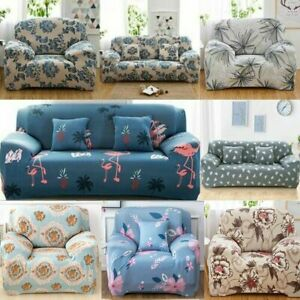 Sofa Covers 1/2/3/4 Seater Stretch Lounge Slipcover Protector Couch Washable AU