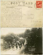 More details for gb military 1926 mytchett camp real photo postcard ppc band courtenay