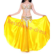 NEW Perform Belly Dance Costume Outfit Set Bra Top Belt Hip Scarf Bollywood SETS