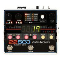 Electro-Harmonix 22500 Dual Stereo Looper Guitar Effects Pedal